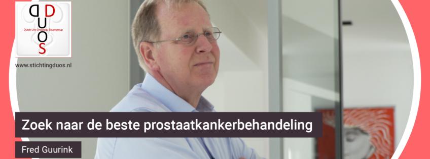 de beste prostaatkankerbehandeling